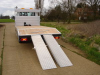 Beavertail with Movable Ramps