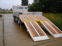 7.5 Tonne Beavertail Platform