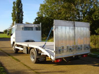 7.5 Tonne Beavertail with double drop sides