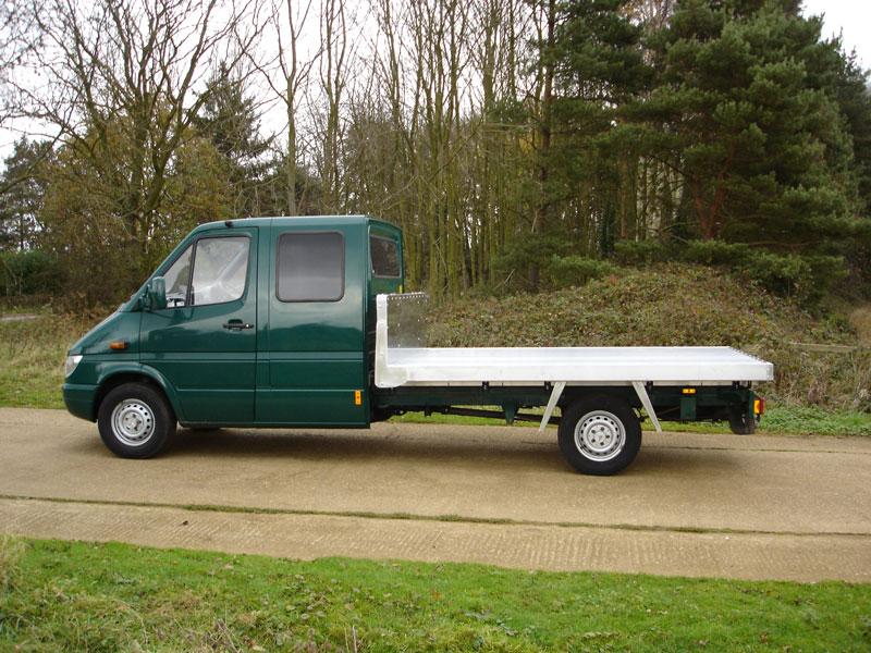 be150066205 3.5 Tonne All Alloy Platform Vehicle Body ...