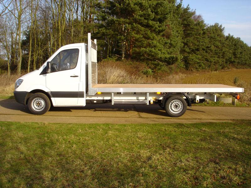 830f5c0488a 3.5 Tonne Platform Vehicle with Heavy Duty Galvanised Steel Head Board ...