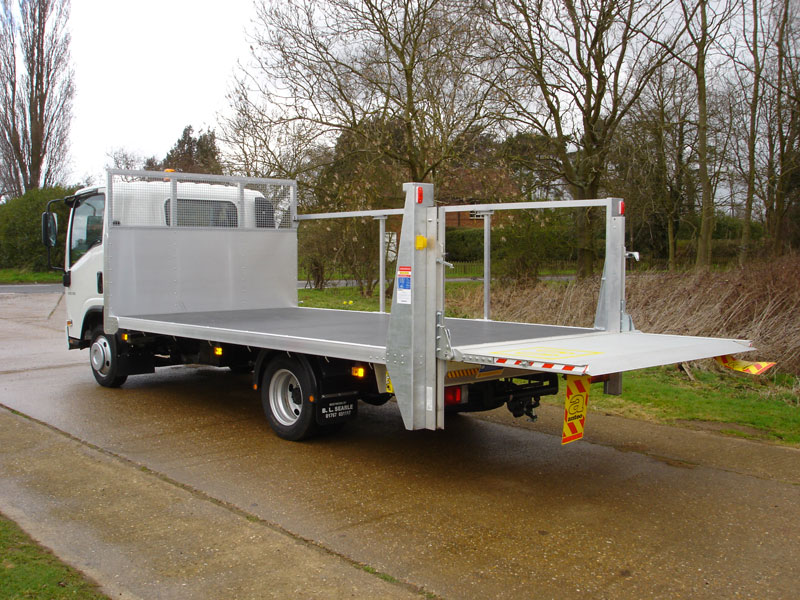 dbe2d6bf9e4 ... 3.5 tonne platform with all alloy tail