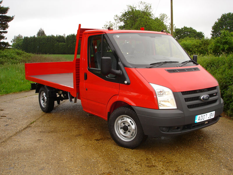 aede507141c 3.5 Tonne Platform Vehicle with Tail Board