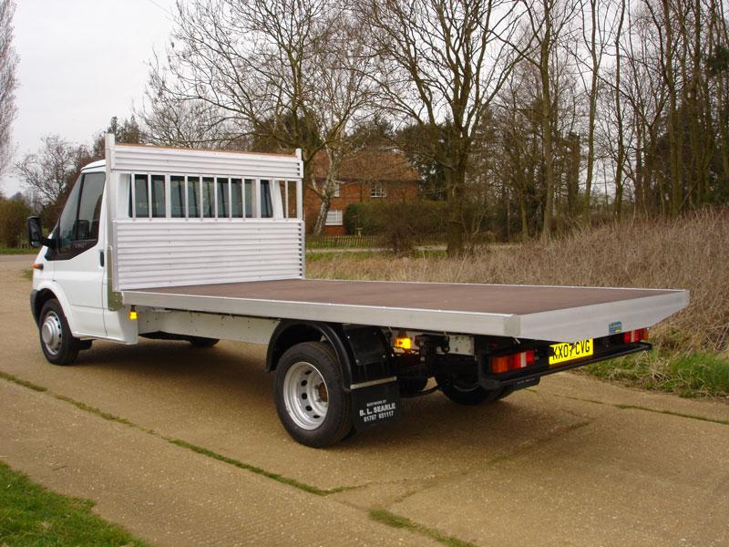 b8ab9cd1e30 3.5 Tonne Platform Vehicle with All Alloy Sub Frame and Phenolic Mesh Floor  ...