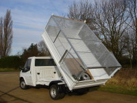 Caged Tipper with Rear Barn Doors
