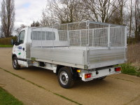 Caged tipper for Ground Maintenance