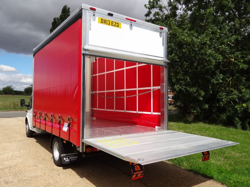 Lightweight Curtainside Vehicle Bodies Bl Searle Ltd
